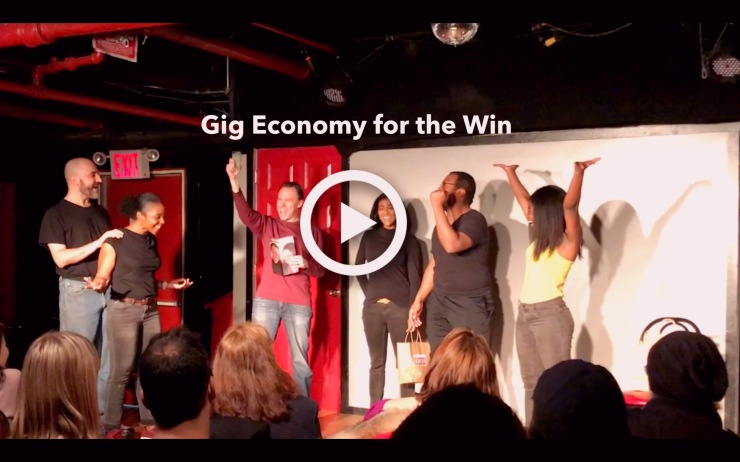 Gig Economy for the Win (Video): https://drive.google.com/open?id=1Et-S3TbdnkEaXiTakgeZe1Pz5nrN5Ig9